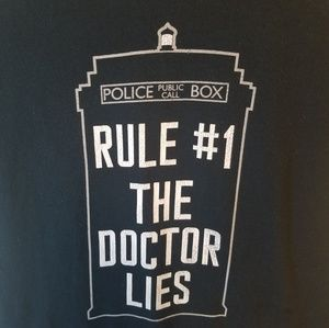 Dr. Who T-shirt Size Small